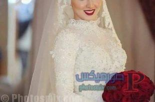 زفاف 2017.فساتين افراح للمحجبات   فساتين ليله العمر 21