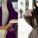 صور عبايات ودريلات جينز للمحجبات بأحدث موضة 1