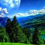 خلفيات طبيعية جميلة خليفات مياه وشلالات خلفيات خضراء 10