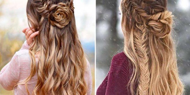 تسريحات شعر طويل 2020 6