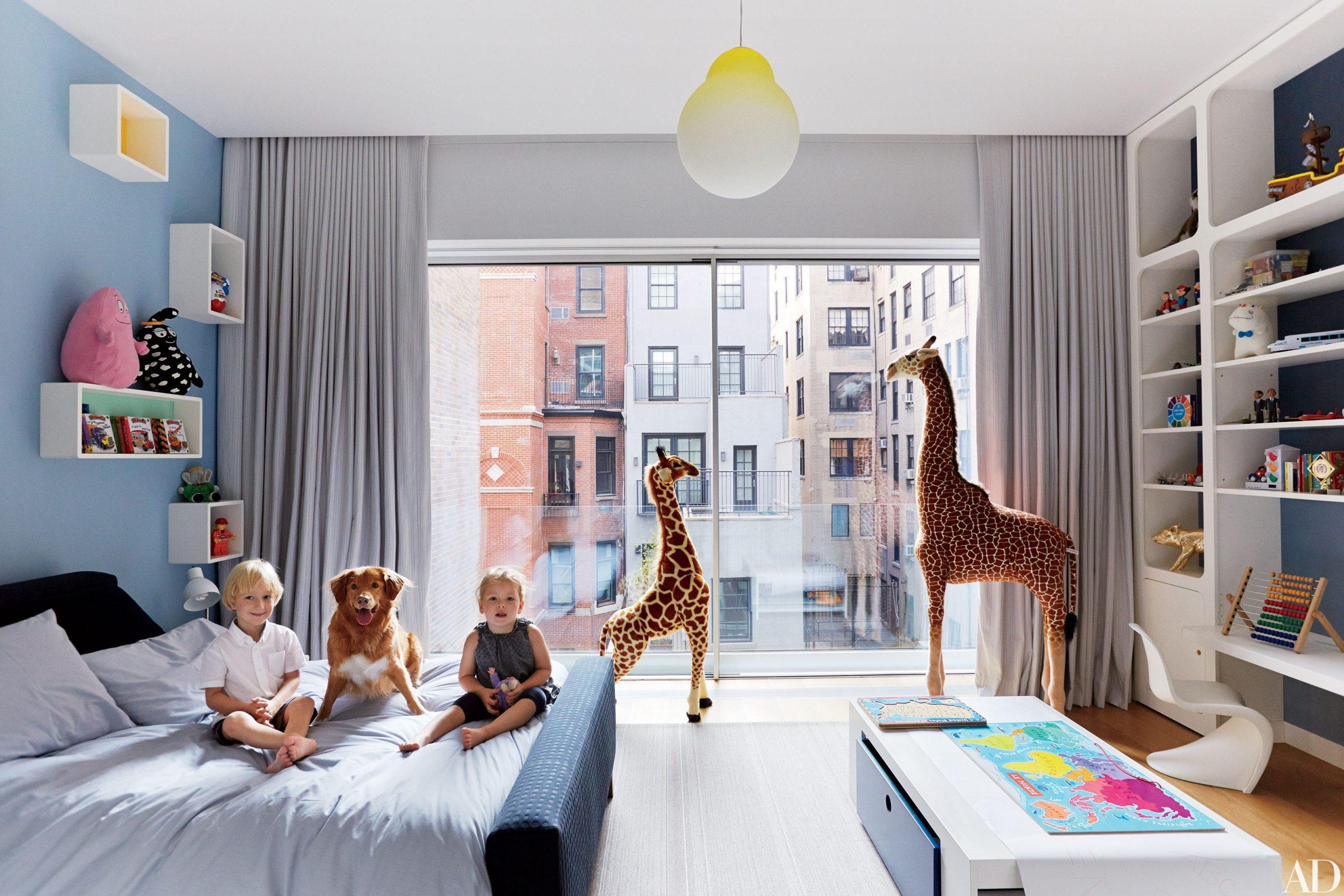 12 غرف نوم حديثة للأطفال