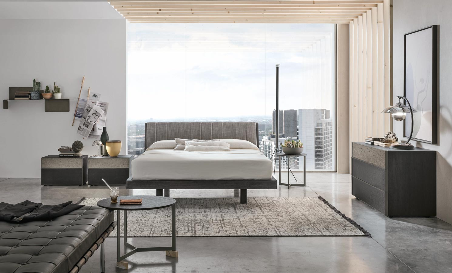 18 غرف نوم متطورة جميلة 1