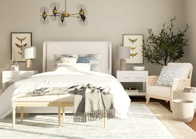 2 غرف نوم جميلة
