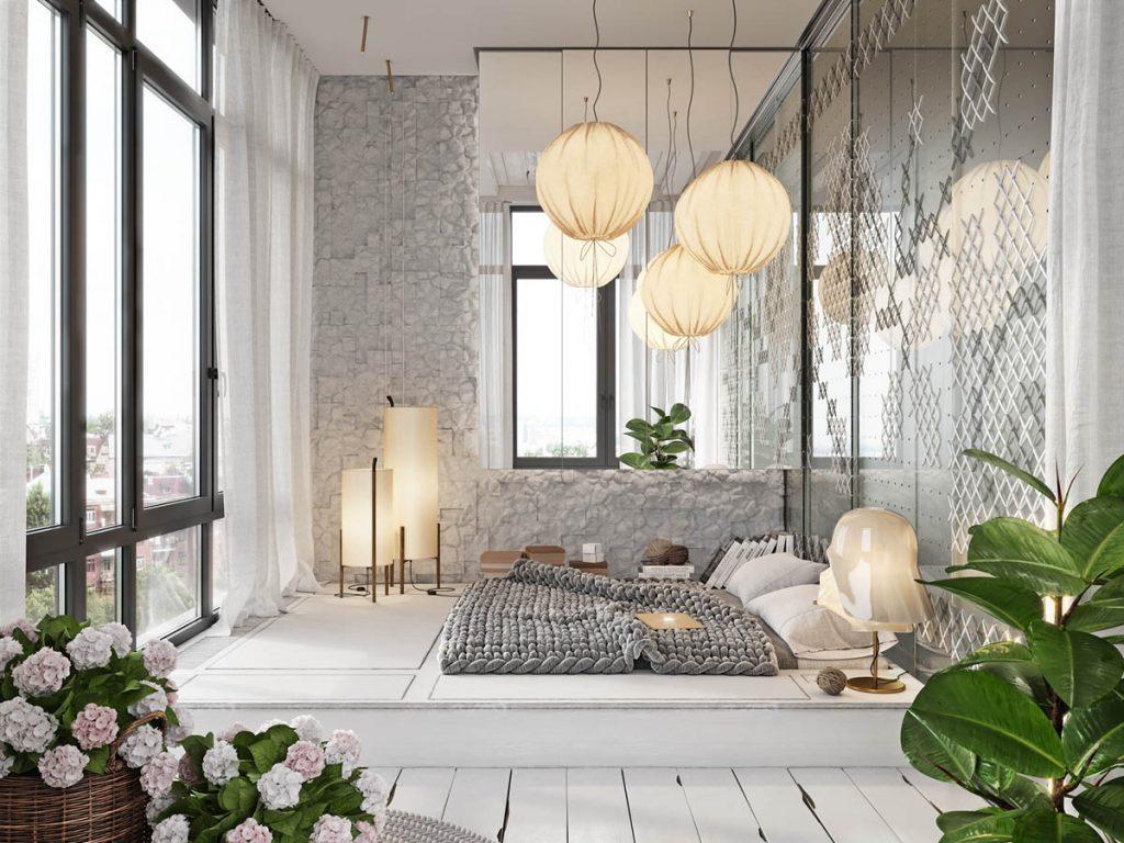 4 غرف نوم مودرن جميلة