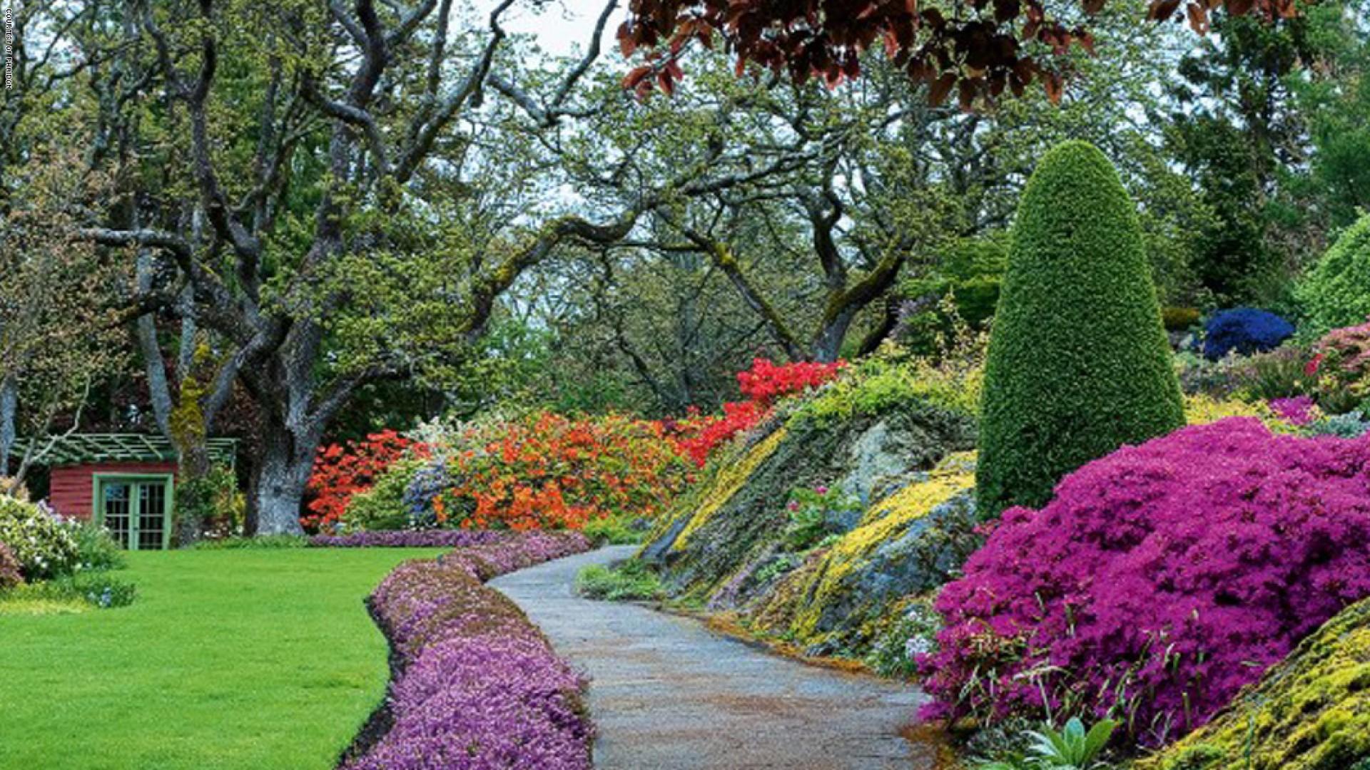اجمل الحدائق بجودة عالية 9
