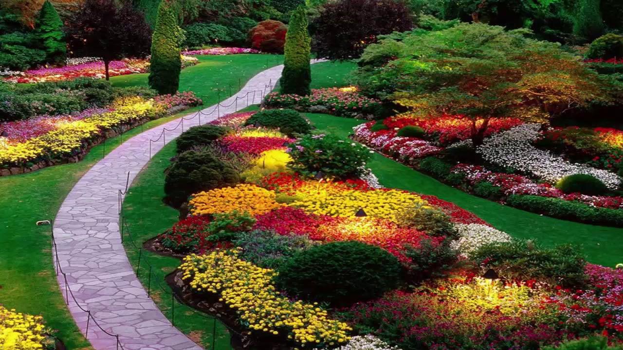 اجمل ديكورات الحدائق 11
