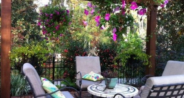 اجمل ديكورات الحدائق 16