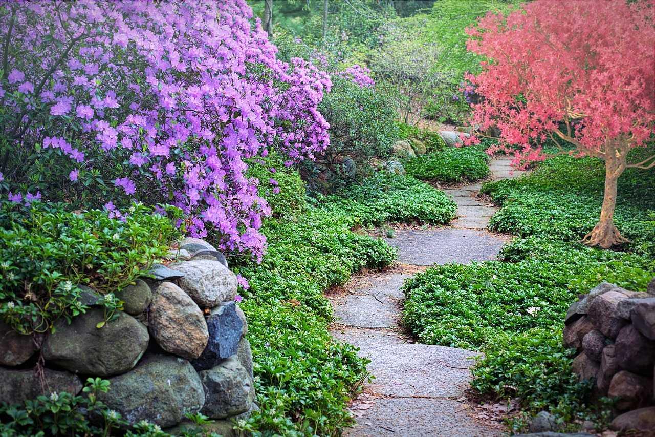 اجمل ديكورات الحدائق 23