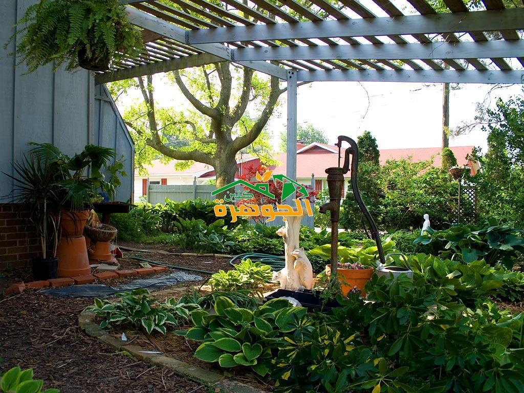 اجمل ديكورات الحدائق 29