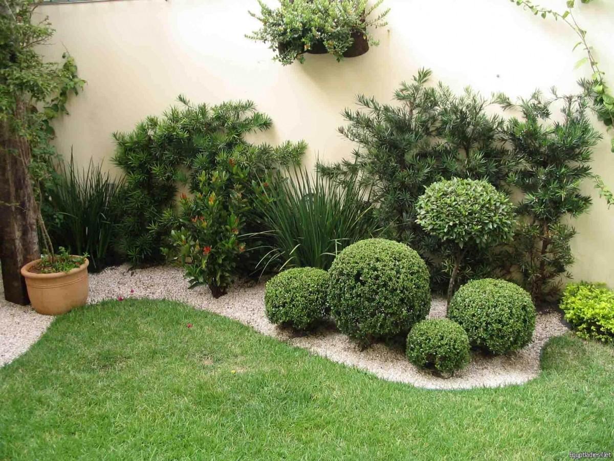 اجمل ديكورات الحدائق 9
