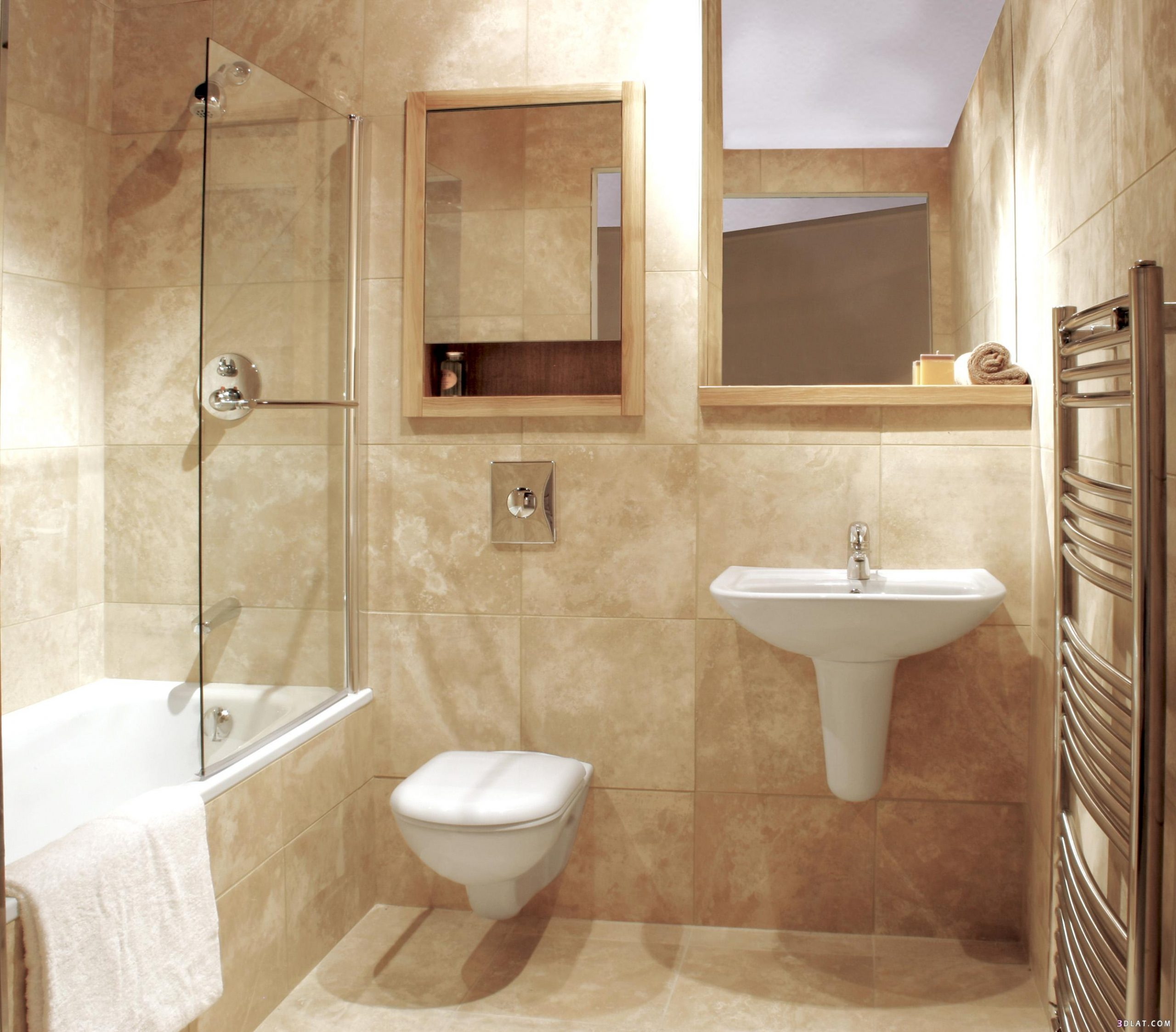 ديكورات حمامات فاخرة 12 1
