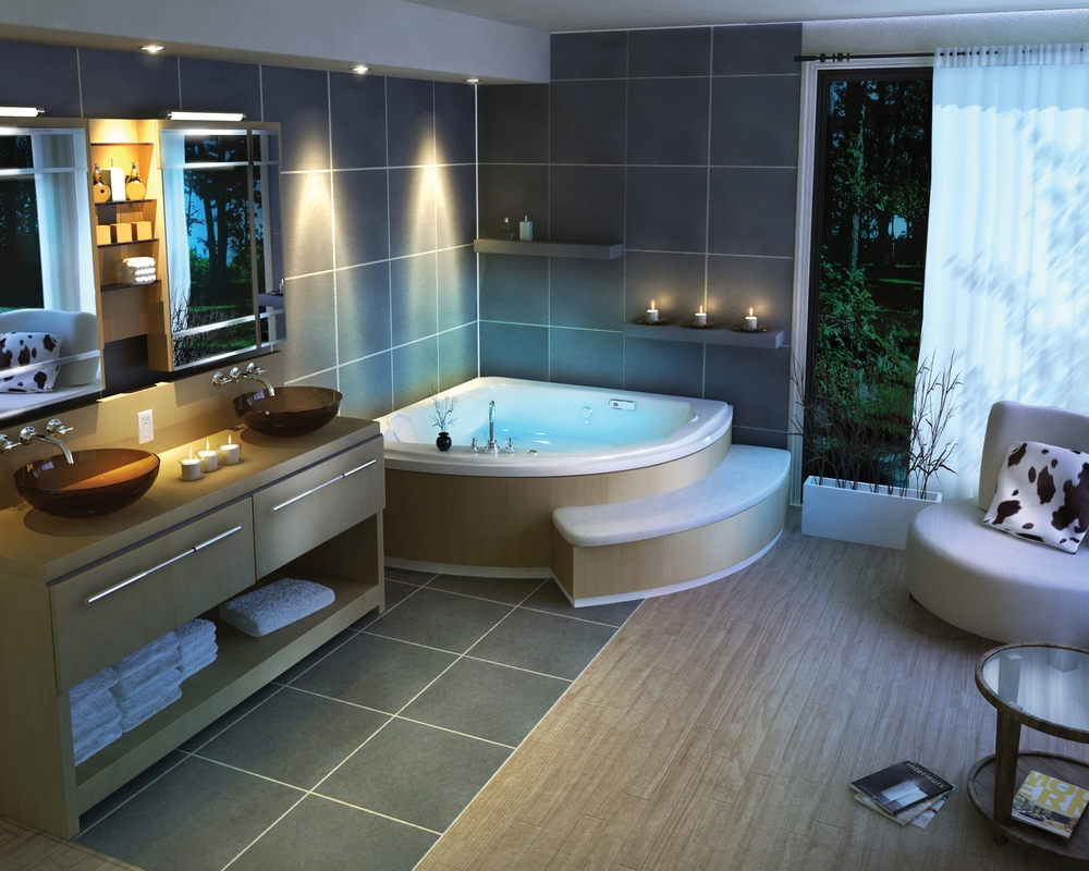 ديكورات حمامات فاخرة 13 1
