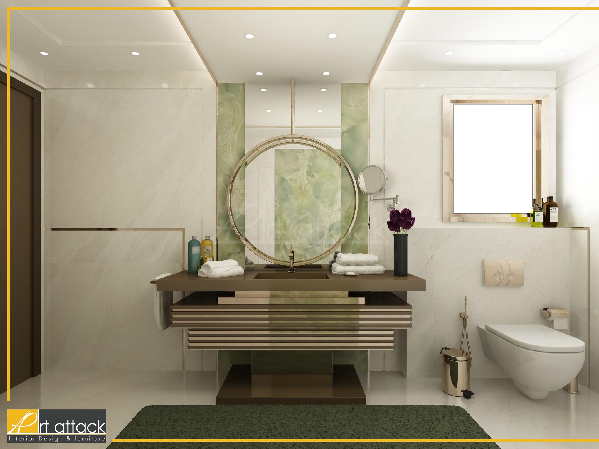 ديكورات حمامات فاخرة 3 2