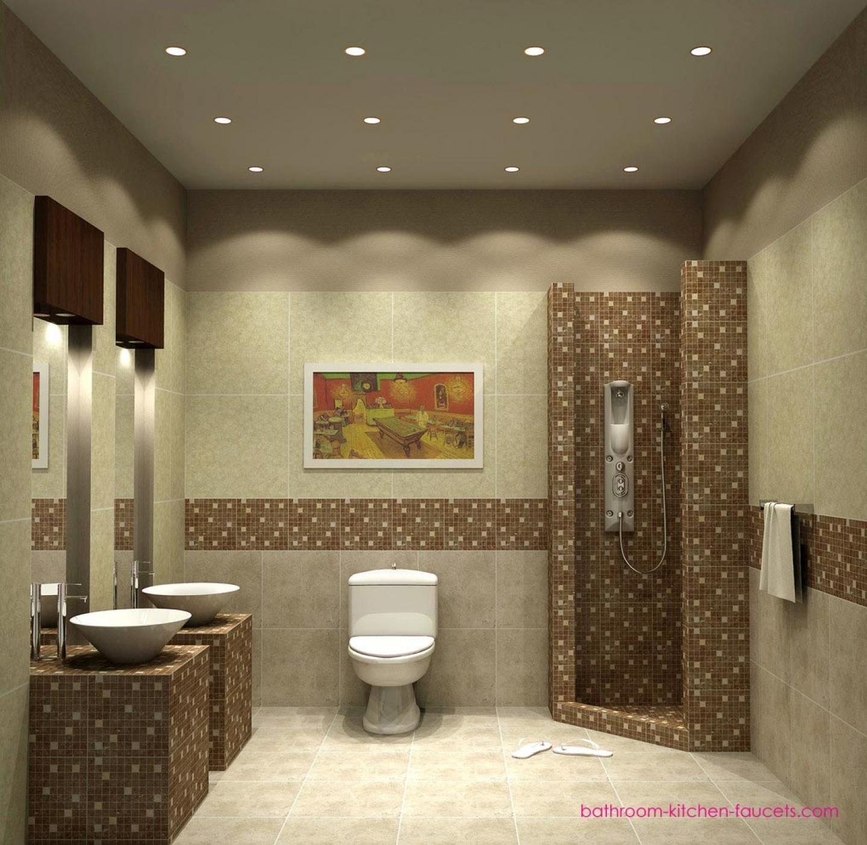 ديكورات حمامات فاخرة 4 2