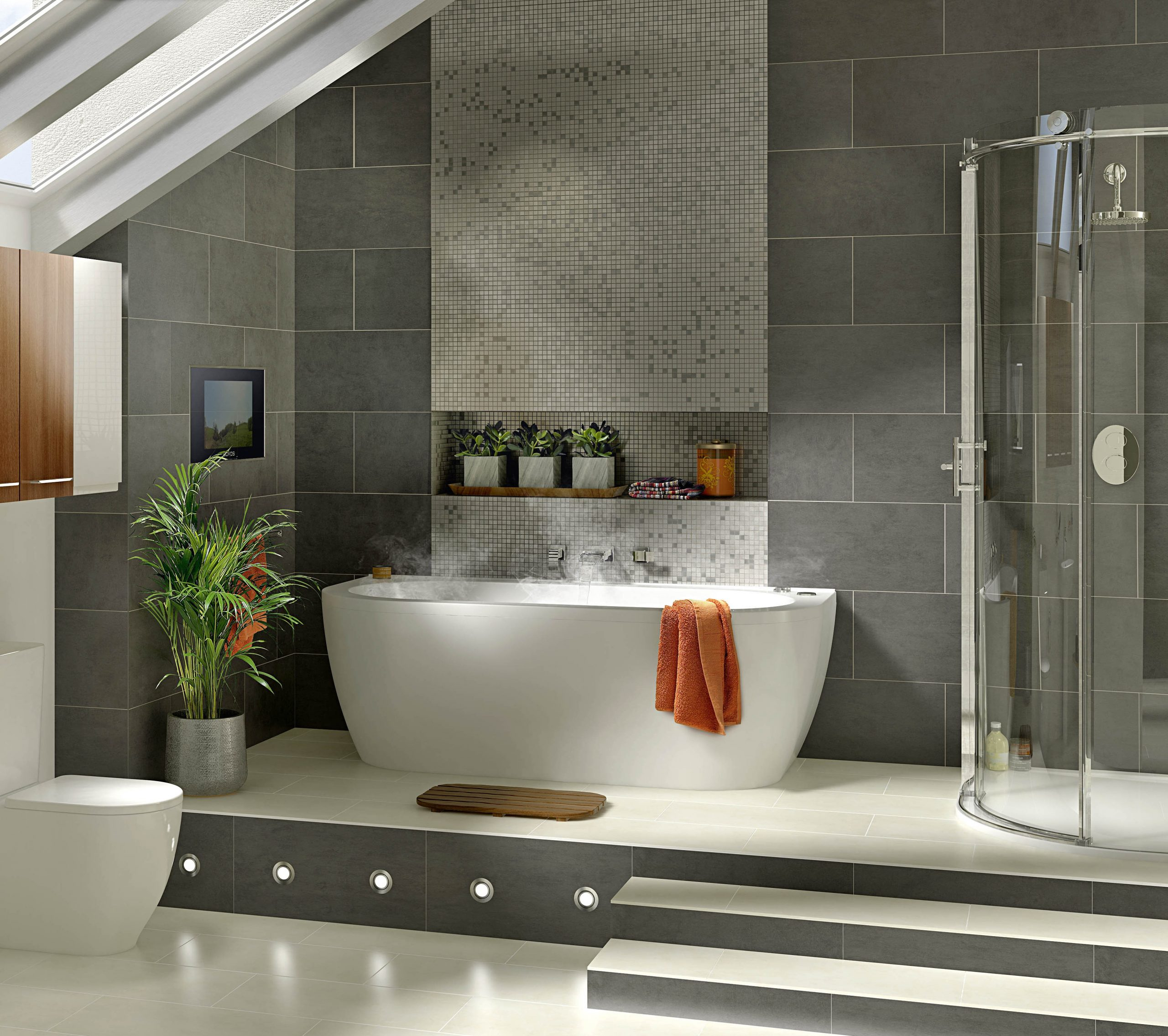 ديكورات حمامات فاخرة 9 1