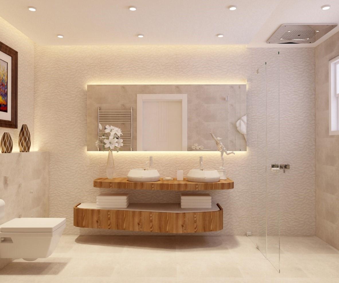 ديكورات حمامات مودرن 1 2