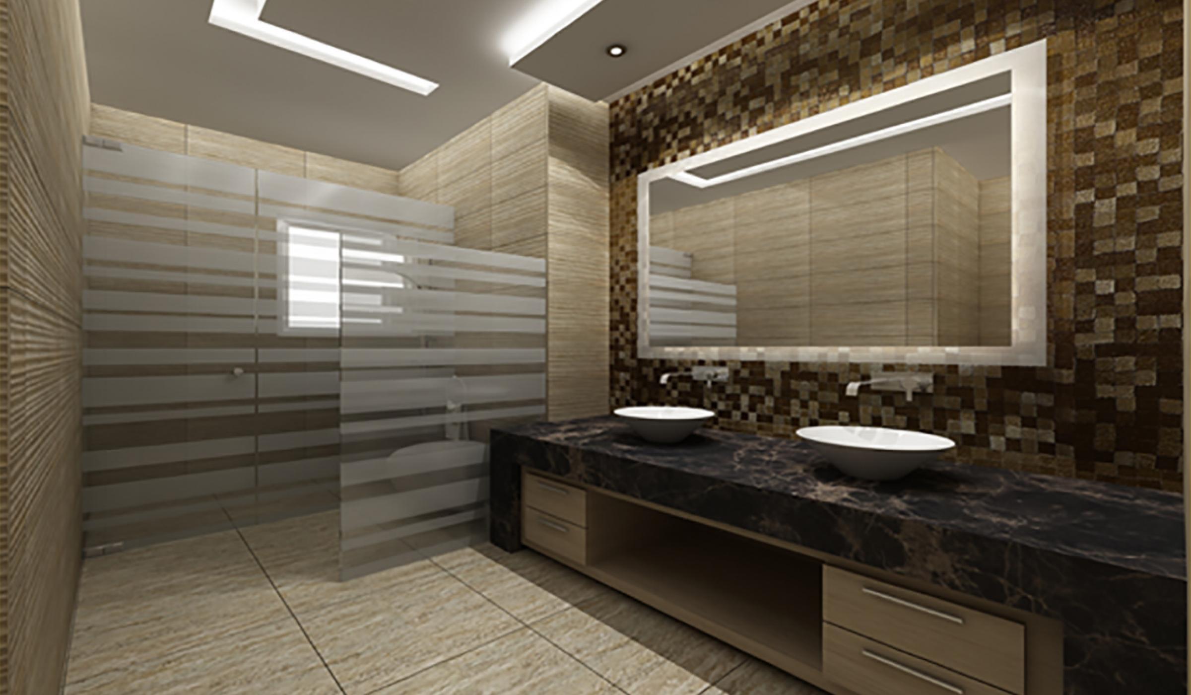 ديكورات حمامات مودرن 12 2
