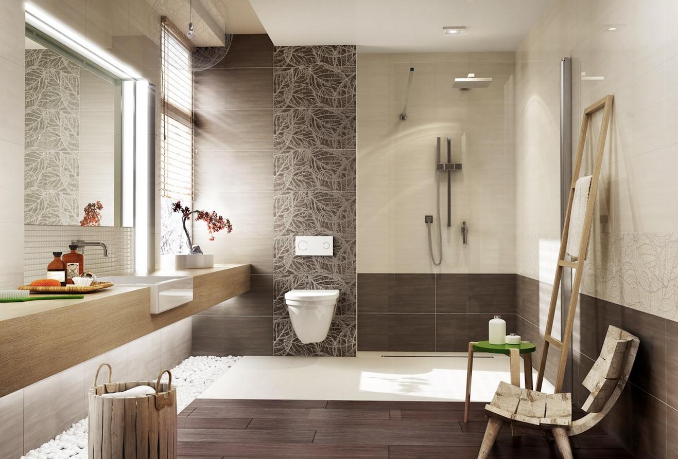 ديكورات حمامات مودرن 3 2