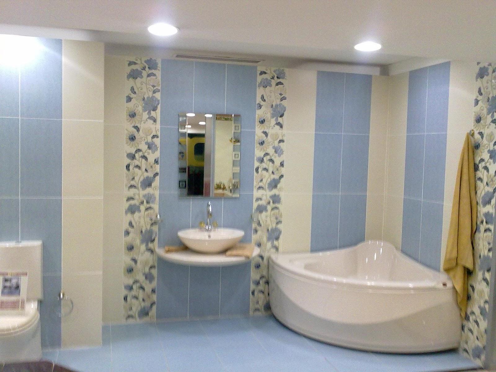 ديكورات حمامات مودرن 4 2