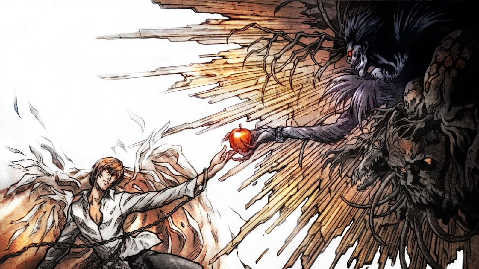 خلفيات سطح المكتب والمحمول Death Note 7