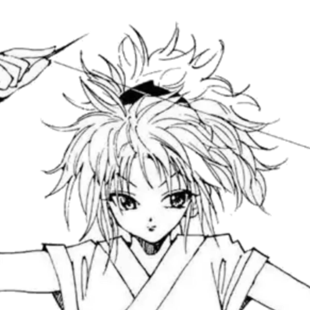 خلفيات وخلفيات Anime Hunter للملف الشخصي 6